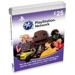 Playstation Network 25 Virtual Card UK