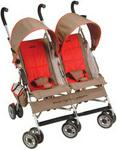 Jeep Baby Jeep Wrangler Twin Sport All-Weather Stroller