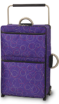 elegant Luggage Set Large - Purple