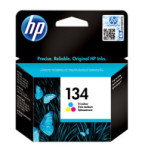 HP No 134 Tri Colour Ink Cartridge