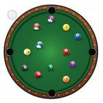 Thumbsup! Pool Ball Clock