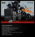 Divoom Xforce 3 Multimedia Speakers