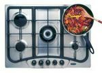 Defy 5 Burner Gas Stainless Steel Built-In Hob