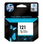 HP No 121 Color Ink Cartridge - 165 pages