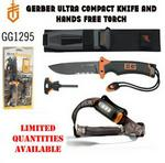 Gerber Knife And Hands Free Torch Combo 2