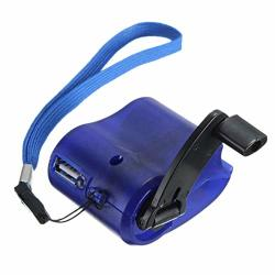Hankyky Handheld Power Charger Generator Emergency Hand Power USB Dynamo Crank For Mobile Phone Outdoor