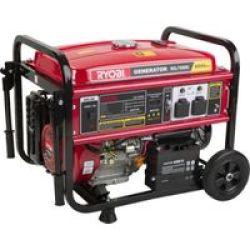 Ryobi 6500W 4-Stroke Key Start Generator