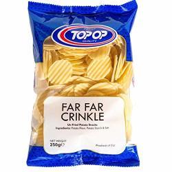 Top-op Far Far Crinkle Un-fried Potato Snack - 250G - Pack Of 4