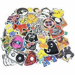 SIX VANKA 600PCS Cool Vinyls Graffiti Stickers To Personalize Laptops Skateboards Luggage Cars Bumpers Bikes Bicycles 600PCS Inc