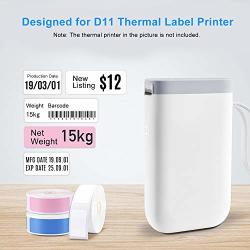 Aibecy Thermal Paper Label Paper Barcode Price Size Name Blank Labels Waterproof Tear Resistant 1440MM 160PCS ROLL For Thermal Printer