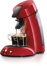 Philips Senseo Coffee Pod Machine - Red