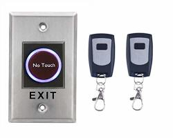 No Touch Contactless Infrared Door Exit Release Button Switch W remote Control For Access Control