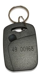 INTELLid 25 Rectangle 26 Bit Proximity Key Fobs Weigand Prox Keyfobs Compatable With Isoprox 1386 1326 H10301 Format Readers. Works With The Vast Majority Of Access Control Systems