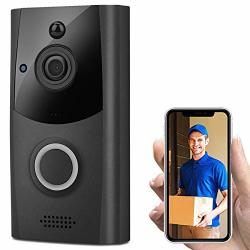 Coodio Wireless Smart Wifi Doorbell Ir Video Visual Ring Camera Intercom Home Security