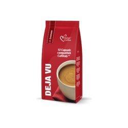 Caffitaly Compatible Capsules Deja Vu Cremoso - 12 Coffee Capsules