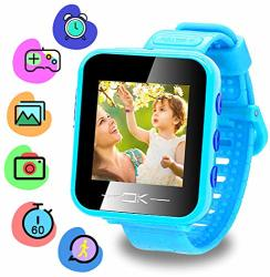 Toys Binteng For 4-8 Year Old Kids Smart Watch For Kids Smartwatch With Camera Pedometer USB Charging Kids Watches Games Best Christmas Birthday Gifts
