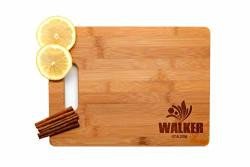 Krezy Case Wooden Engraved Cutting Board Home D Cor Family Name Christmas Gift For Family