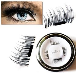 ad845a0920b New False Magnetic Eyelashes By Coeurx 1 Pair 4 Pieces 0.2MM Ultra Thin Fake  Mink Eyelashes For Natural Look Reusable Best Fake