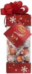 LINDOR Lindt Holiday Pinnacle Milk Chocolate Truffles Kosher 6.8 Ounce Gift Box