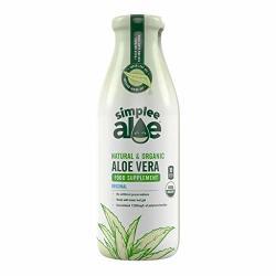 Simplee Aloe Natural & Organic Aloe Vera Juice - 500ML 17.59 Fl Oz