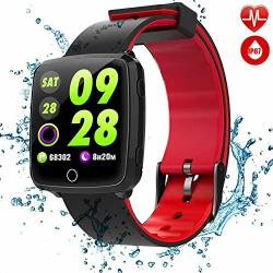 C-xka Big Color Touchscreen Double-color Strap IP67 Waterproof Smart Watch 8 Exercise Modes Real-time Monitoring Support Sleeping Monitoring Pedometer Notifications Remind Activity Tracker