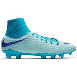c40812608 Nike Hypervenom Phantom 3 Academy Dynamic Fit Fg Glacier Blue persian  Violet Men s 9 WOMEN S 10.5