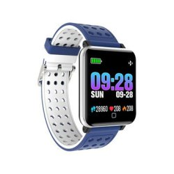 Bakeey M19 1.3INCH Training Modes Heart Rate Blood Pressure Monitor Fitness Tracker