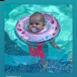 Baby Neck Float - Cherry