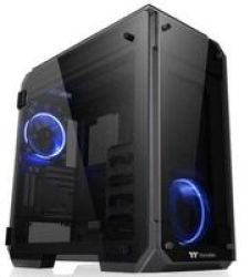 Thermaltake View 71 Tempered Glass Full-tower Chassis Black