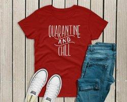 Quarantine & Chill Unisex T-Shirt - 13-14
