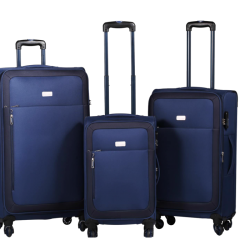Amplify Travelwize Luggage Polar Series 50CM Navy Blue