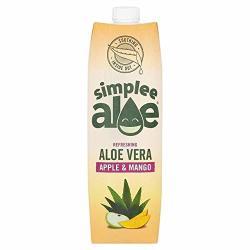Simplee Aloe Aloe Vera Juice With Apple & Mango - 1L 35.19 Fl Oz