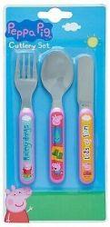 Peppa Pig - Cutlery Set 3 Piece Set
