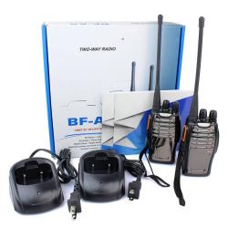 Every Need 2PCS Baofeng BF-A5 Walkie Talkie Uhf Scan Vox Bright Flashlight Two Way Radio