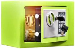 USA Zcf Security Safes MINI Security Safe Portable Cabinet Safes With Keypad Lock Solid Steel Great For Home Office Hotel Cash Jewelry - 6 Colors Color