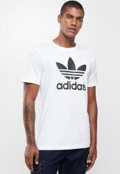 Adidas Original Trefoil T-Shirt - White black