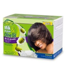 M&M Products Sofn'free Milk Protein & Olive Oil No-lye Relaxer Kit Regular  Single | R | Haircare | PriceCheck SA
