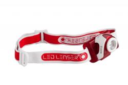 LED Lenser SEO5 Headlamp in Red