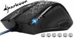 Sharkoon Drakonia Black Gaming Laser Mouse With