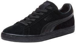 PUMA Footwear Puma Suede Classic Leather Formstrip Sneaker Black black 12 D M Us