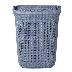 FORMOSA - Knit Laundry Basket Sky