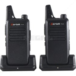 Zartek TX-8 Two Way Radio Twinpack