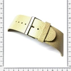 34MM Watch Strap Genuine Leather Creme Beige made In Germany
