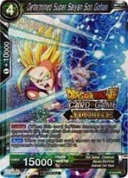 Dragon Ball Super Tcg - Determined Super Saiyan Son Gohan Judge Promo - P-016 - Pr - Promos