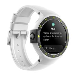 Ticwatch S Express Android Smartwatch Wear Os - Glacier White