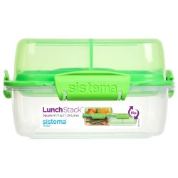 Sistema - Lunch Stack Square To Go
