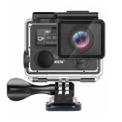 Eken H5S Plus 2.0 Inch Touch Screen Action Camera HD 4K 30FPS Eis With Ambarella A12 Chip Inside 30M Waterproof