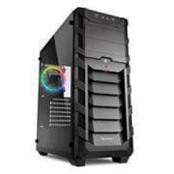 Sharkoon 4044951026586 Skiller SGC1 Rgb Atx Tower PC Gaming Case - Black