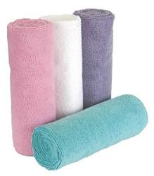 "Salon Supply Store 20 Towels 16"" X 29"" Pink Microfiber Bleach Chemical Resistant Salon Spa Towels Proof"