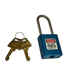 Union Lockout Padlock Blue Kd